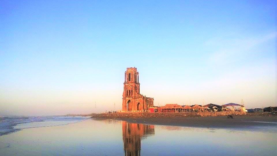 bãi biển Hải Thịnh Nam Định