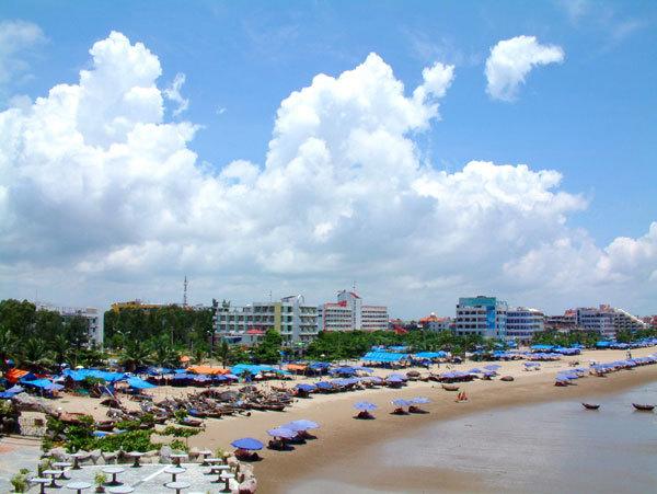 bãi biển Sầm Sơn- Thanh Hóa