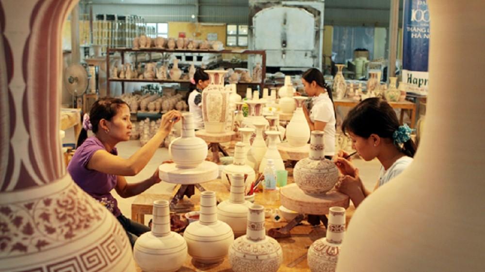 xưởng thủ công mỹ nghệ Hội An